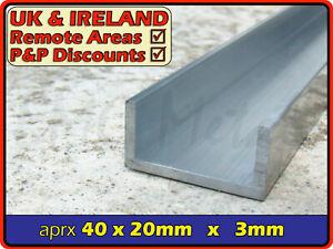 "Aluminium Channel║1.5"" x 0.75""║(C U section, gutter, profile,alloy)"