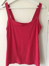 Pink Women's Ladies' Vest Top Size 12
