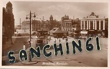 Rochdale Unposted Real Photographic (rp) Collectable Lancashire Postcards