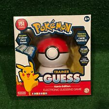 NIB Pokemon Trainer Guess Kanto Edition Electronic Guessing Game Toy Zanzoon