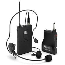 FIFINE Wireless Lavalier Condenser Microphone Cardioid Clip on Mic F/ Smartphone