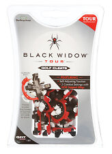 Black Widow Tour Golf Cleats - Q-Fit - Replacement Golf Cleats