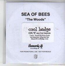 (CG826) Sea of Bees, The Woods - 2010 DJ CD