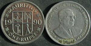 Mauritius 1 Rupee 1990