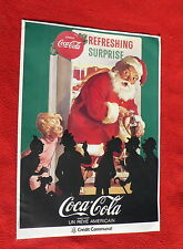 Livret Catalogue Coca Cola Un rêve américain. Tintin. 1986