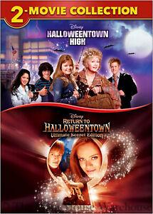 Disney Channel Halloween Movie Series Halloweentown Last Final Sequels 3 & 4 DVD