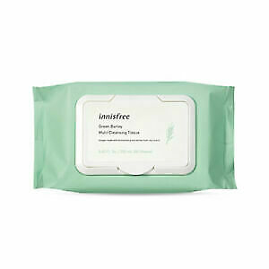 Innisfree - Green Barley Multi Cleansing Tissue 50 Sheets US