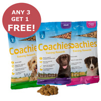 Coachies Dog Puppy Training Treats Adult, BUY 3 GET 1 FREE!