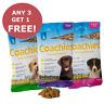 Coachies Dog Puppy Training Treats Adult, BUY 3 GET 1 FREE!