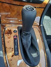 Gear Shift Knob + Boot FITS Mercedes Benz E-Class W211 W219 AT, Genuine leather