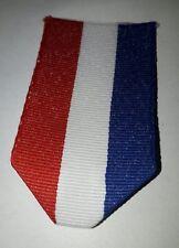 Ruban bleu blanc rouge, taille ordonnance, France, Pays-Bas, Médaille Décoration