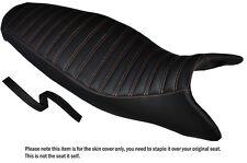 Diseño 3 Color Beige Stitch personalizado se adapta a Triumph Street Triple 675 07-12 cubierta de asiento
