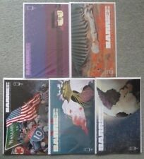 BARRIER #1-5 COLLECTORS EDITION SET..BRIAN K. VAUGHAN..IMAGE 2018 1ST PRINT..NM