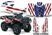 AMR Can-Am Outlander 800R/1000 XT XT-P DPS SST G2 2012-2015 ATV Graphics US FLAG