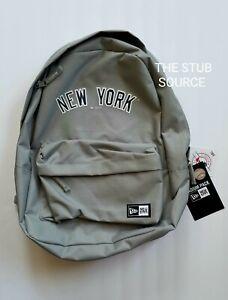 New York Yankees Stadium Pack Gray Backpack STH Exclusive MLB19 New Era BNWT