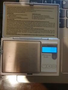 Digital Scale 0.01G to 250G Grams Pocket Weighing Mini Kitchen Jewellery Scales