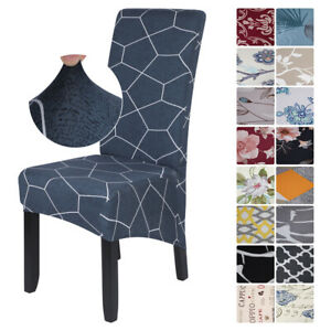 22 Styles Dining Chair Covers Stretch High Back Seat Protection Slipcover Decor