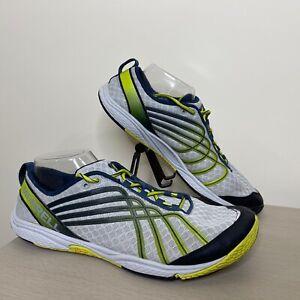 Merrell Bare Access 2 Running Shoes J40021 Vibram Soles Gray Yellow Men's 10.5