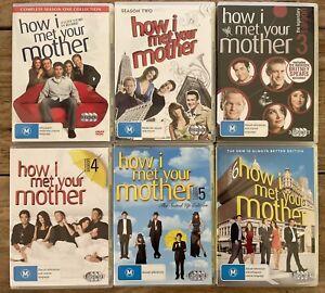 How I Met Your Mother Season 1/2/3/4/5/6 DVD TV Series Box set - 18 Disc Set