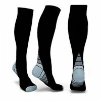 1 Pair Men Women Compression Socks Sport Running Fitness Calf Shin Leg Stockings