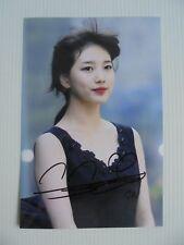 Suzy Bae Miss A 4x6 Photo Korean Actress KPOP autograph signed USA Seller A3
