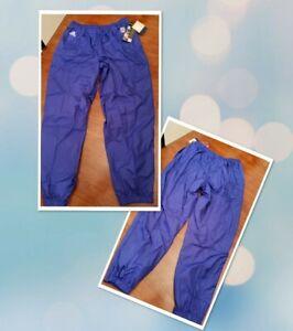 Vtg 90s NWT Adidas NFL On Field ProLine Football Lined Windbreaker Pants Blue XL