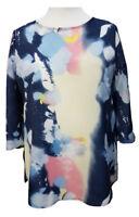 Plus size Summer Multicoloured Tunic Tops NEW tye dye Size 16-18/20-22/24-30/32