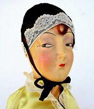 Vintage 1930'S Art Deco Vamp Bed Doll - Usa
