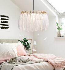 Nordic Feather Chandelier Damsel Heart INS Lamp Pendant lamp Suspension Light