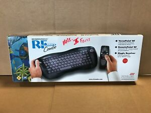 New Sealed Remotepoint RF Combo Keyboard and RF Remote Control VP6241R