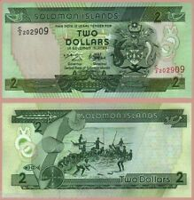 SOLOMON ISLAND 2 DOLLAR UNC # 842