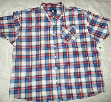 Mens 6XLB 6XL Rocawear Sentinel Short Sleeve Button-down Shirt_Brand New_Bargain