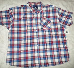 Mens 6XLB 6XL Rocawear Sentinel Short Sleeve Button-down Shirt_Brand New_Bargain