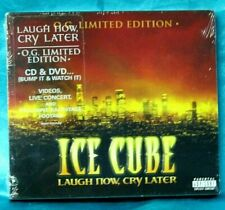 Sealed Gangsta Rap CD + DVD: Ice Cube - Laugh Now, Cry Later - Lench Mob