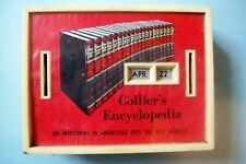 Vintage Collier's Encyclopedia Date Bank by M.A. Gerett