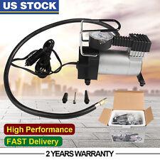 150PSI Air Compressor 12V Auto Pump Tire Inflator Heavy Duty Tyre Gauge 35L/min