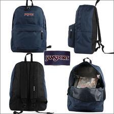Jansport Backpack Superbreak NAVY 25L Luggage Skate School Travel Bag FREE POST