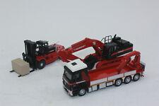 IMC 31-0179 Mammoet Set 1:87 Construction LKW Bagger Stapler NEU in OVP