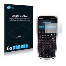 6x Casio FX-CG20 Displayschutzfolie Klar Transparent Schutzfolie Displayfolie