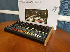 BEHRINGER RD8 SOLID OAK REPLACEMENT END CHEEKS DRUM MACHINE