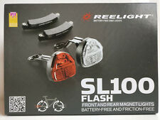 Reelight SL100 LED Bike Bicycle Cycling Front Head Rear Tail Lamp Light Set