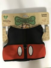 Disney Parks Tails Mickey Mouse Costume Harness for Dog S Small New