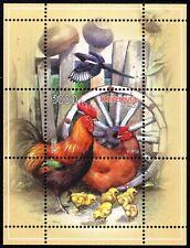 2009. Belarus. Birds. Poultry. Hens. MNH. S/sheet