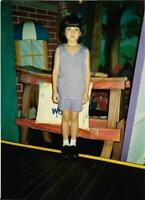 Little Kid FOUND COLORPHOTO Girl FREE SHIPPING Original Snapshot CHILD 01 27 I