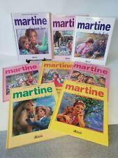 📚 lot de 8 livres Martine de Gilbert Delahaye  / Marcel Marlier