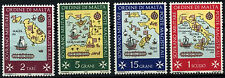 Souvereign Military Order Of Malta 1968 Maps MNH Set #D49461