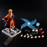 Anime Naruto PVC Toy SHF Uzumaki Naruto Movable Figure Gift 14cm New in Box