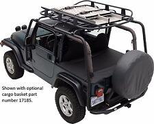 Smittybilt SRC Heavy Duty Steel Roof Rack 1997-2006 Jeep Wrangler TJ 76713