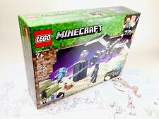 Lego Minecraft The End Battle 21151 Building Kit New 2019 (222) Piece