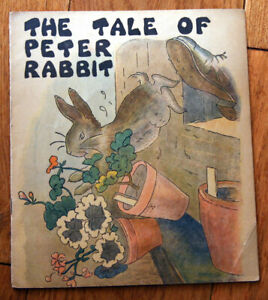 The Tale of Peter Rabbit 1932 Platt & Munk Co. Vintage Children's Book